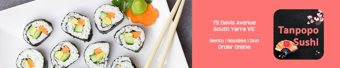 Tanpopo Sushi (South Yarra) | Order Online | Pickup & Delivery | TuckerFox